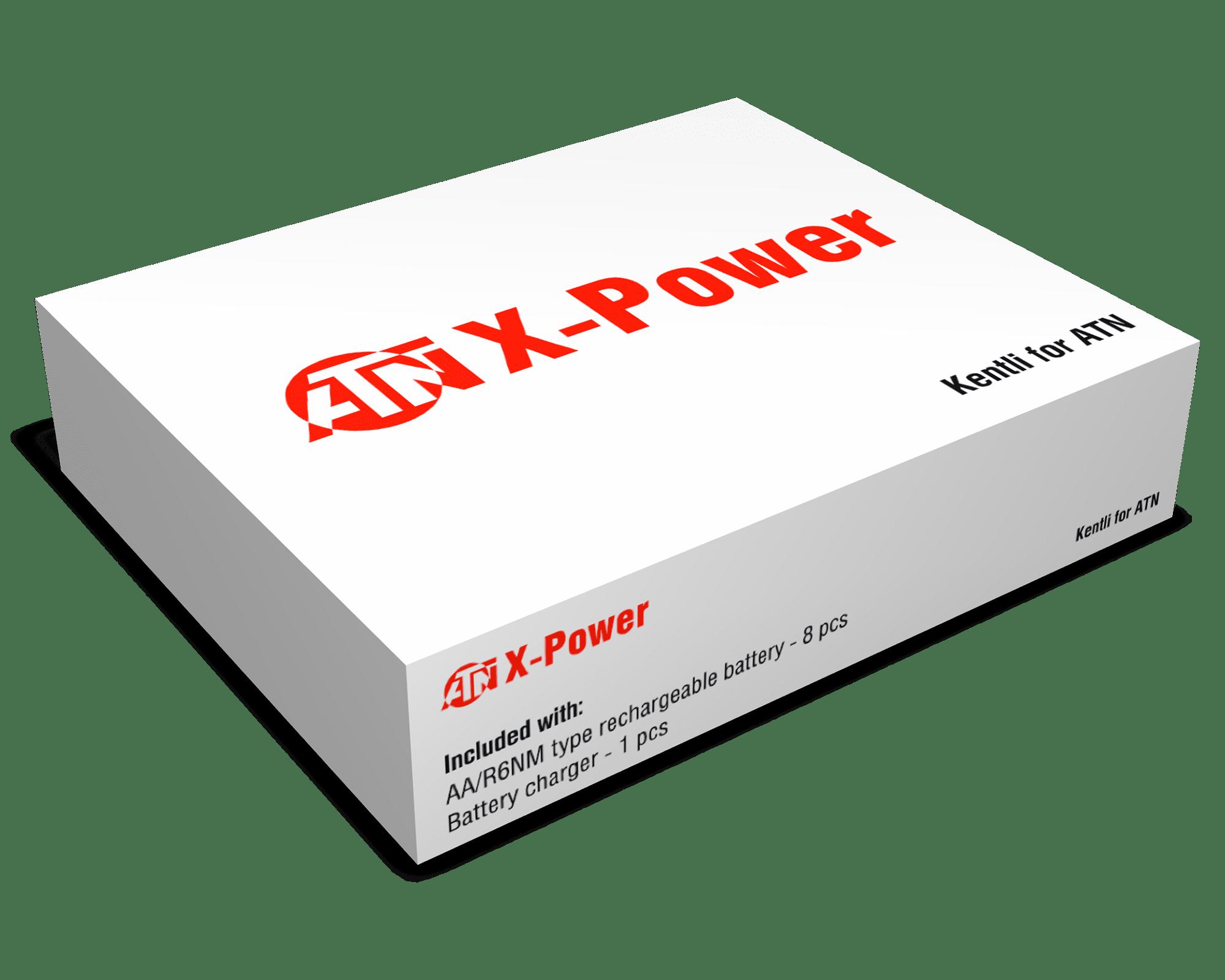 ATN Rechargeble Battery Kentli USB Charger