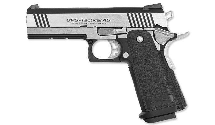 TOKYO MARUI Airsoft Pistol Hi-Capa 4.3 Custom Dual Stainless GBB
