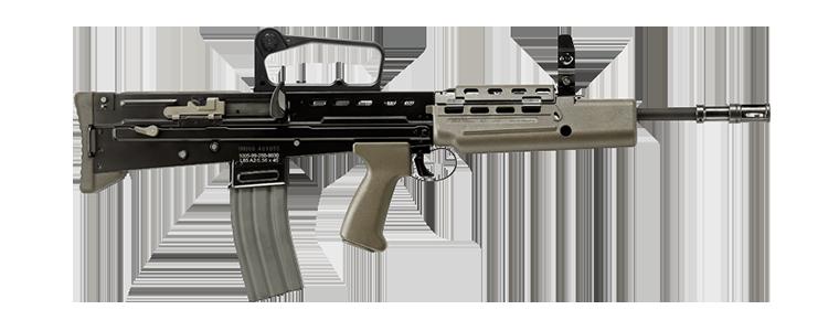 G&G Airsoft Rifle L85 A2 ETU EBB